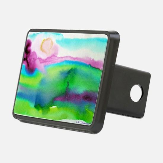 landscape, colorful art! Hitch Cover
