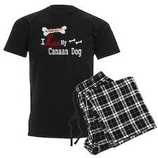 NB_Canaan Dog pajamas