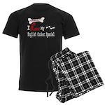 NB_English Cocker Spaniel Men's Dark Pajamas
