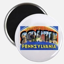 Scranton Pennsylvania Greetings Magnet