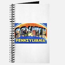 Scranton Pennsylvania Greetings Journal