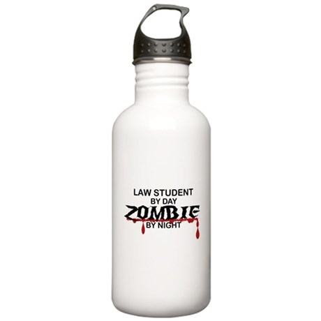 Law Student Zombie Stainless Water Bottle 1.0L