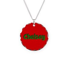 Chelsey Red and Green Necklace