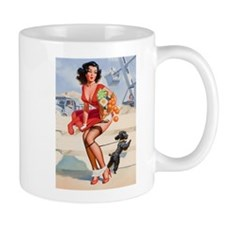 Pin up Grocery Girl Mug