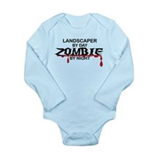 Landscaper by Day Zombie by Night Long Sleeve Infa