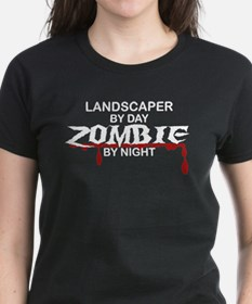 Landscaper by Day Zombie by Night Tee