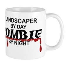 Landscaper by Day Zombie by Night Mug