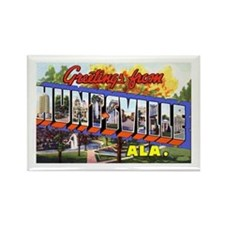 Huntsville Alabama Greetings Rectangle Magnet