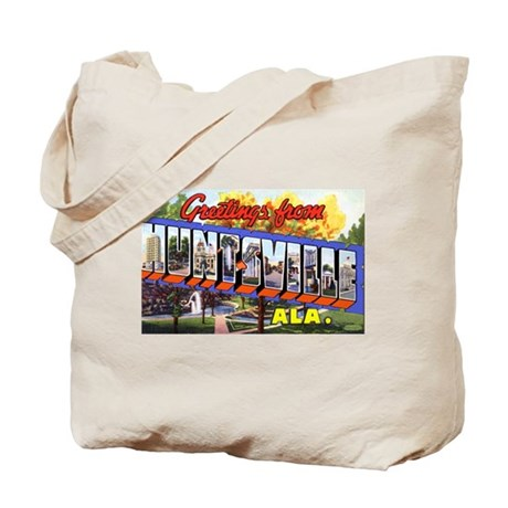 Huntsville Alabama Greetings Tote Bag
