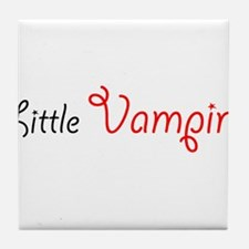 Little Vampire Tile Coaster