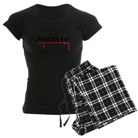 Manager Zombie Women's Dark Pajamas