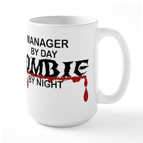 Manager Zombie Large Mug