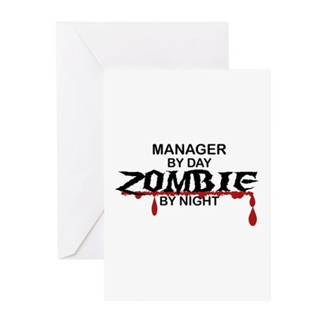 Manager Zombie Greeting Cards (Pk of 10)