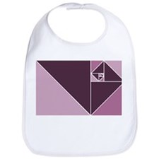 Burgundy Golden Ratio Bib
