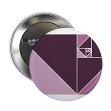 "Burgundy Golden Ratio 2.25"" Button"