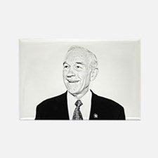 Ron Paul Sketch Rectangle Magnet