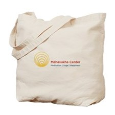 Mahasukha Logo with Title Tote Bag