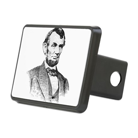 President Lincoln Rectangular Hitch Cover