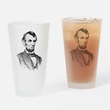 President Lincoln Drinking Glass