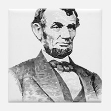 President Lincoln Tile Coaster
