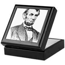 President Lincoln Keepsake Box