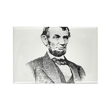 President Lincoln Rectangle Magnet