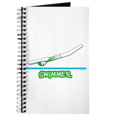 Swimmer (Girl) Green Suit Journal