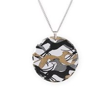 Cute Borzoi Necklace
