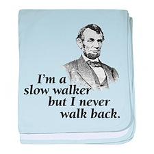 Im A Slow Walker baby blanket