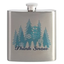 Think Snow Flask