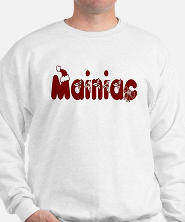 Christmas Mainiac Sweatshirt