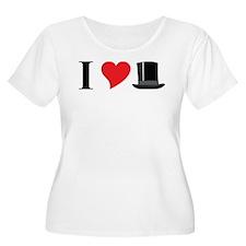 I Love Tophats T-Shirt
