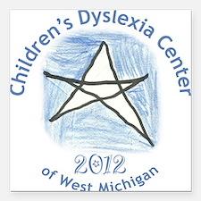 Children's Dyslexia Center Ornament 2012 Square Ca