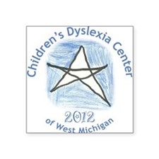 Children's Dyslexia Center Ornament 2012 Square St