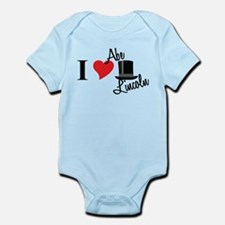 I Love Abe Lincoln Infant Bodysuit