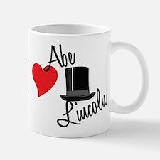 I Love Abe Lincoln Mug