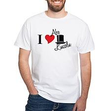 I Love Abe Lincoln Shirt