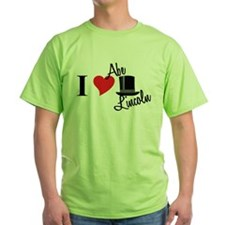I Love Abe Lincoln T-Shirt
