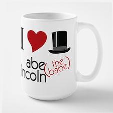 Abe The Babe Large Mug