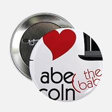 """Abe The Babe 2.25"""" Button"""