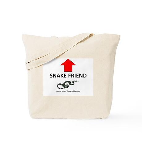 Snake Friend Tote Bag
