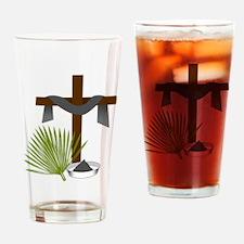 Forgiveness Cross Drinking Glass