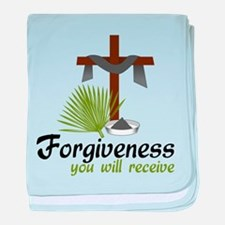 Forgiveness You Will Receive baby blanket