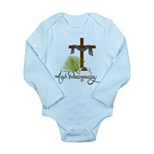Ash Wednesday Long Sleeve Infant Bodysuit