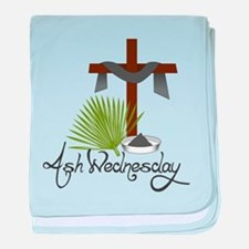 Ash Wednesday baby blanket