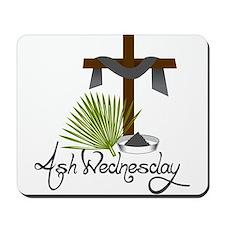 Ash Wednesday Mousepad