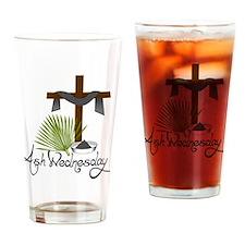 Ash Wednesday Drinking Glass