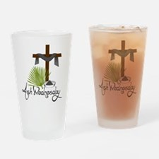 Ash Wednesday Drinking Glass