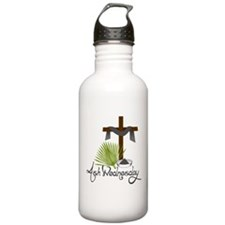 Ash Wednesday Water Bottle
