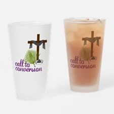 Call To Conversion Drinking Glass